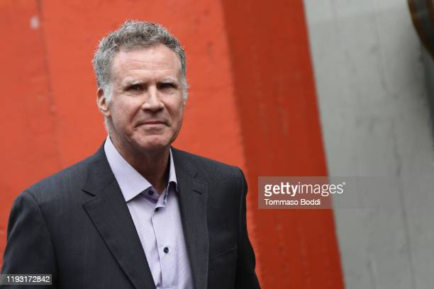 Will Ferrell attends a Hand and Footprint ceremony honoring Kevin Hart at the TCL Chinese Theatre IMAX on December 10, 2019 in Hollywood, California.