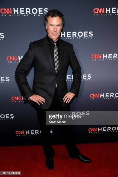Will Ferrell attends the 12th Annual CNN Heroes An AllStar Tribute at American Museum of Natural History on December 9 2018 in New York City