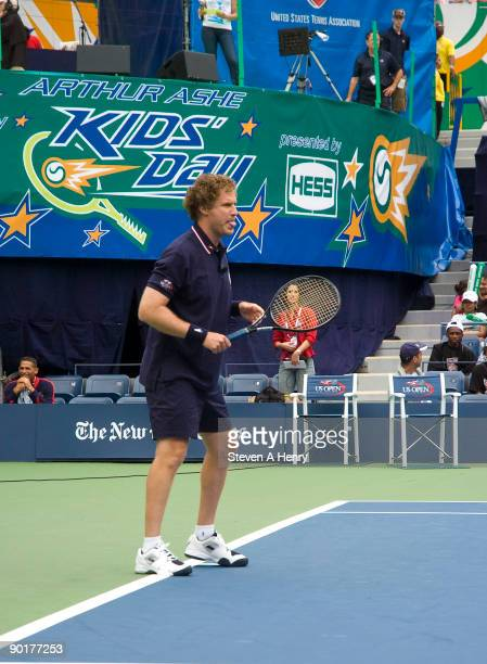 Will Ferrell attends the 2009 Arthur Ashe Kids Day at the USTA Billie Jean King National Tennis Center on August 29, 2009 in New York City.