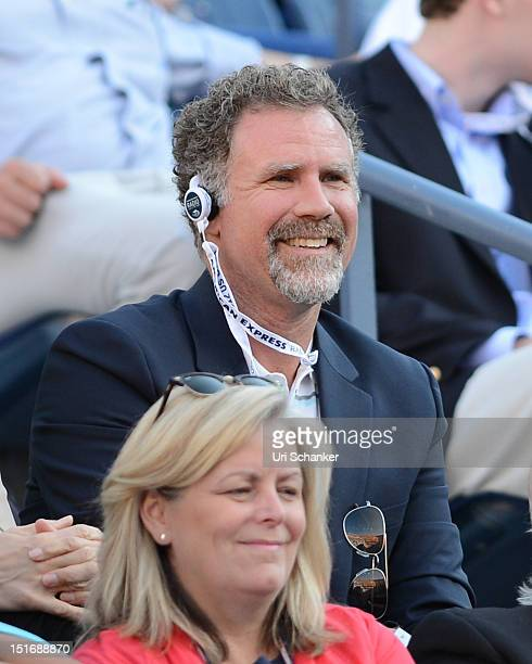 Will Ferrell attends the 2012 US Open at USTA Billie Jean King National Tennis Center on September 9, 2012 in New York City.