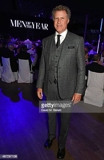 Will Ferrell attends the GQ Men Of The Year Awards at The Royal Opera House on September 8 2015 in London England