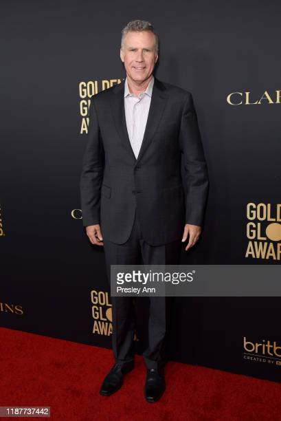 Will Ferrell attends the Hollywood Foreign Press Association and The Hollywood Reporter Celebration of the 2020 Golden Globe Awards Season and...