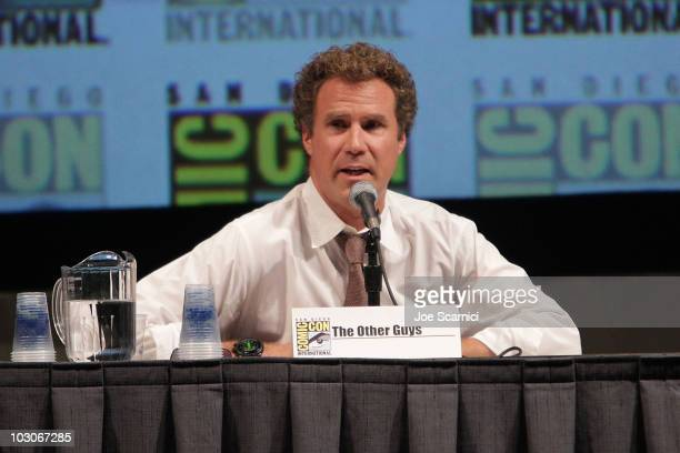 Will Ferrell attends The Other Guys panel on Day 2 of 2010 Comic-Con International at San Diego Convention Center on July 23, 2010 in San Diego,...