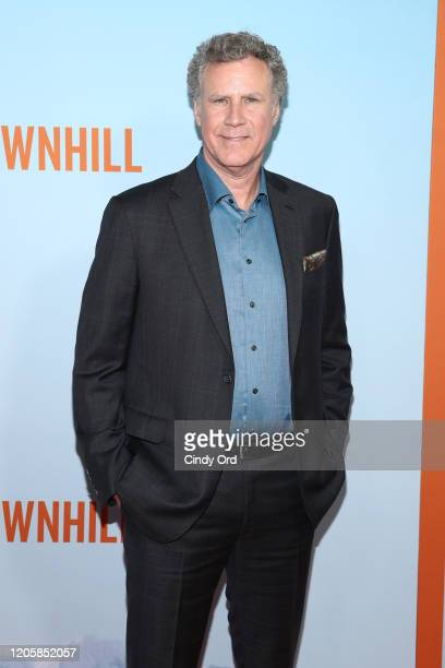 """Will Ferrell attends the premiere of """"Downhill"""" at SVA Theater on February 12, 2020 in New York City."""