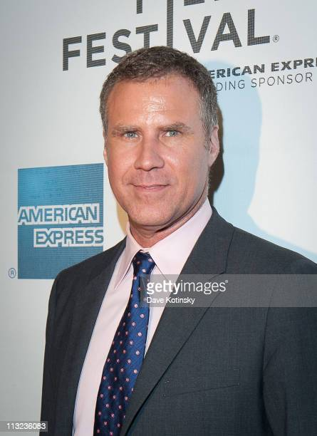 Will Ferrell attends the premiere of 'Everything Must Go' during the 10th annual Tribeca Film Festival at BMCC Tribeca PAC on April 27 2011 in New...