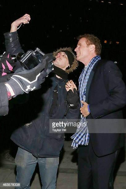 Will Ferrell attends the Saturday Night Live 40th Anniversary Celebration After Party at The Plaza Hotel on February 15 2015 in New York City