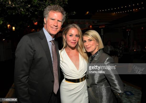 Will Ferrell Christina Applegate and Liz Feldman attend the premiere of Netflix's 'Dead to Me' at The Eli and Edythe Broad Stage on May 02 2019 in...