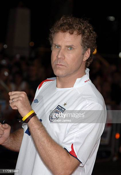Will Ferrell during Talladega Nights: The Ballad of Ricky Bobby UK Premiere - Arrivals at Empire Leicester Square in London, Great Britain.