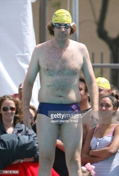 """Will Ferrell during USC """"Swim With Mike"""" Awards and the 27th Annual Swim-A-Thon at USC McDonald's Swim Stadium in Los Angeles, California, United..."""