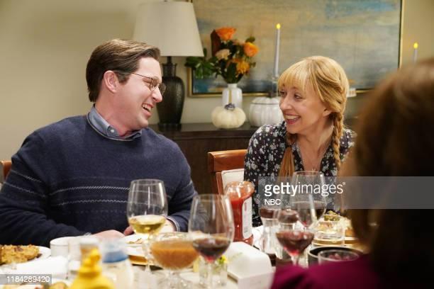 LIVE Will Ferrell Episode 1774 Pictured Beck Bennett and Heidi Gardner during the Heinz sketch on Saturday November 23 2019