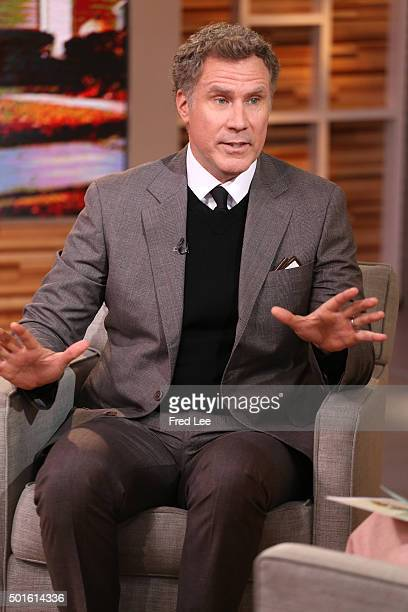 AMERICA Will Ferrell is a guest on 'Good Morning America' 12/16/15 airing on the ABC Television Network WILL