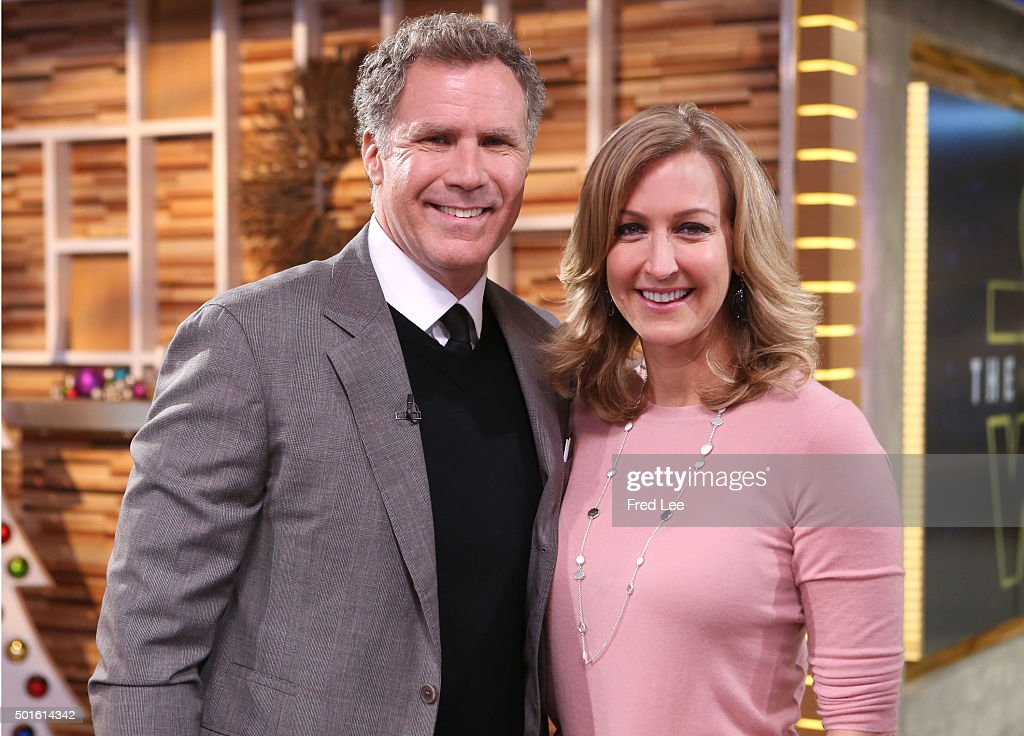 AMERICA - Will Ferrell is a guest on 'Good Morning America,' 12/16/15, airing on the ABC Television Network. WILL