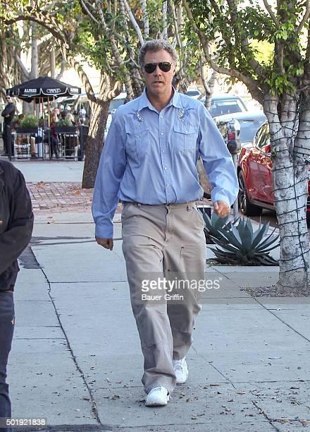 Will Ferrell is seen on December 18 2015 in Los Angeles California