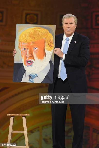Will Ferrell performs onstage during Full Frontal With Samantha Bee's Not The White House Correspondents' Dinner at DAR Constitution Hall on April 29...