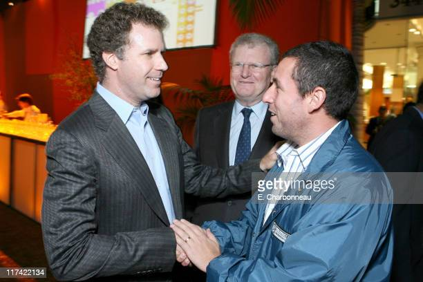 Will Ferrell Sony's Sir Howard Stringer and Adam Sandler *EXCLUSIVE*