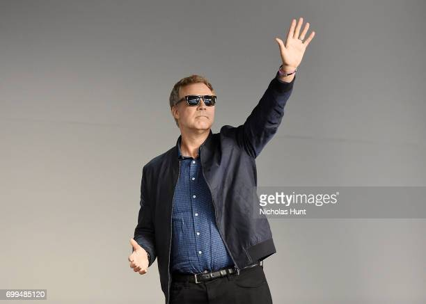 Will Ferrell speaks about his new movie The House at Apple Store Soho on June 21 2017 in New York City