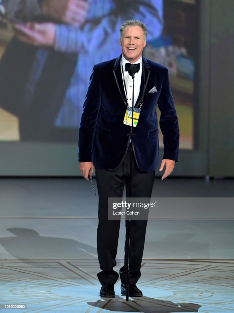 Will Ferrell speaks onstage during the 70th Emmy Awards at Microsoft Theater on September 17, 2018 in Los Angeles, California.