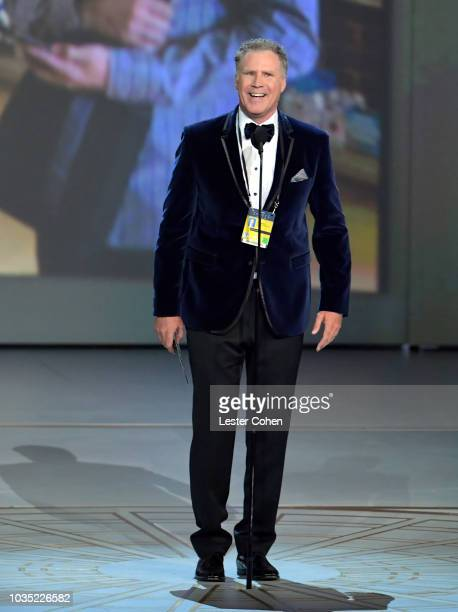 Will Ferrell speaks onstage during the 70th Emmy Awards at Microsoft Theater on September 17 2018 in Los Angeles California