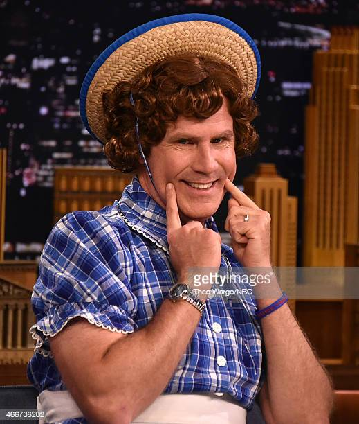 Will Ferrell visits 'The Tonight Show Starring Jimmy Fallon' at Rockefeller Center on March 18 2015 in New York City