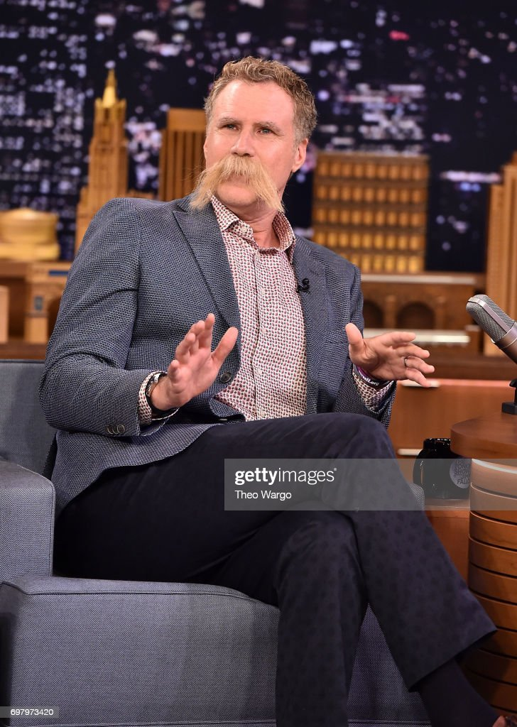 "Will Ferrell Visits ""The Tonight Show Starring Jimmy Fallon"""