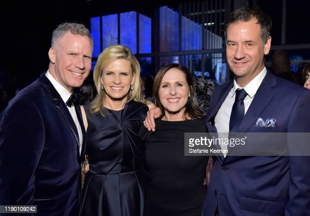 Will Ferrell Viveca Paulin Molly Shannon and Fritz Chesnut attend the 2019 LACMA Art Film Gala Presented By Gucci at LACMA on November 02 2019 in Los...