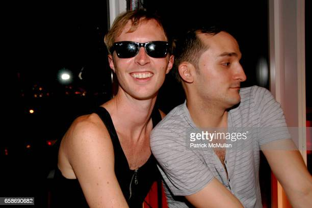 Will Fischer and Matthew LeBaron attend PATRICK DUFFY and IAMSTERDAM present PRIDE at The Standard on June 28 2009 in New York City