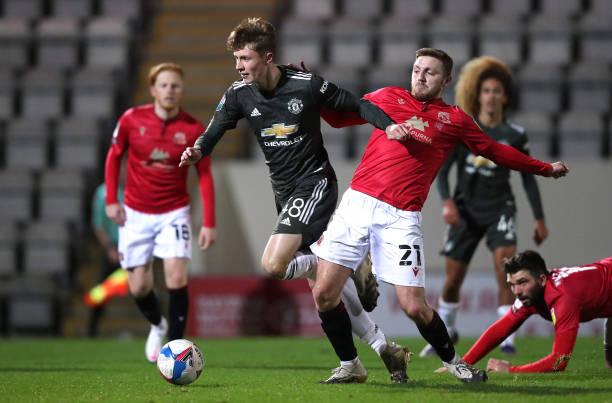 GBR: Morecambe v Manchester United U21 - EFL Trophy