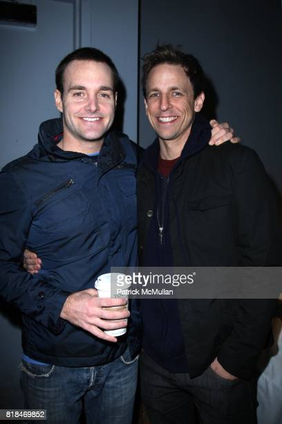 Will Forte and Seth Meyers attend BEYOND FUNDERDOME COMEDY BLOWOUT A Fundraiser Benefiting THE DIARY OF A TEENAGE GIRL at 3LD Art and Technology...