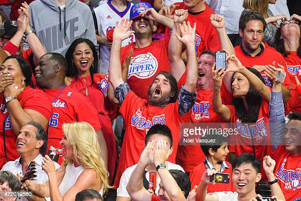 Will Forte attends basketball game between the San Antonio Spurs and Los Angeles Clippers at Staples Center on May 2 2015 in Los Angeles California