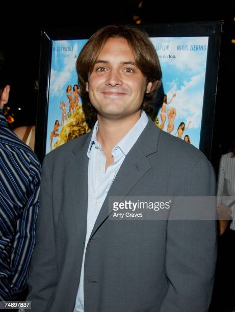 Will Friedle at the The Grove Stadium 14 in Los Angeles California
