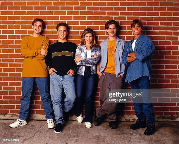 WORLD Will Friedle Ben Savage Danielle Fishel Rider Strong and Matthew Lawrence star in the popular TGIF comedy series BOY MEETS WORLD airing on the...