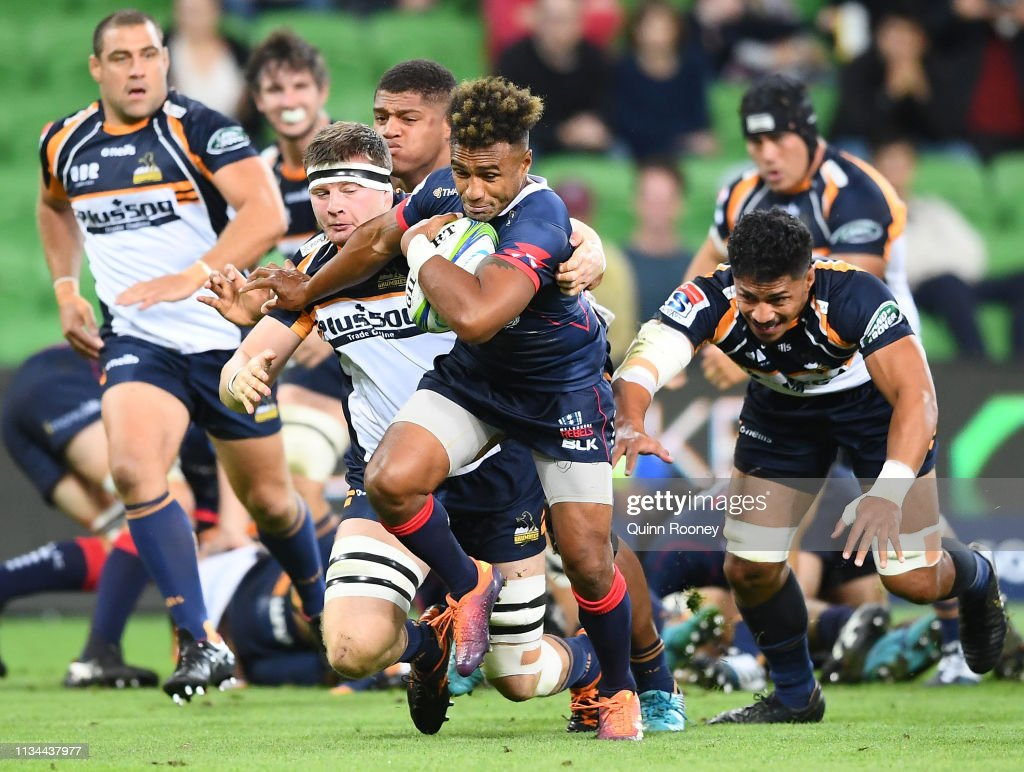 Super Rugby Rd 4 - Rebels v Brumbies : News Photo