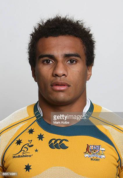 Will Genia of the Wallabies poses during the Australian Wallabies squad headshots session at the Manly Pacific Manly on July 7 2009 in Sydney...