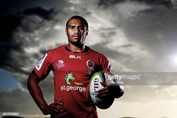 Will Genia poses after a Queensland Reds Super Rugby training session on January 30 2015 in Cairns Australia