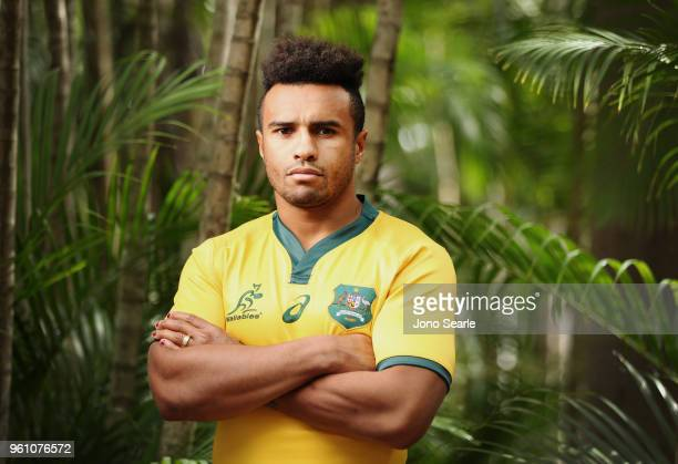 Will Genia poses during the Australian Wallabies headshot session on May 7 2018 in Gold Coast Australia
