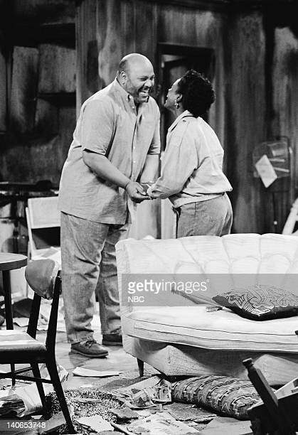 AIR Will Gets Commited Episode 2 Air Date Pictured James Avery as Philip Banks Janet Hubert as Vivian Banks Photo by Joseph Del Valle/NBCU Photo Bank