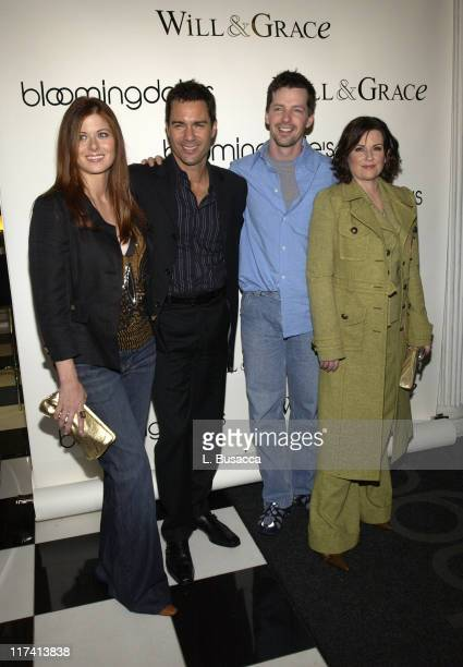 Will Grace cast Debra Messing Eric McCormack Sean Hayes and Megan Mullally