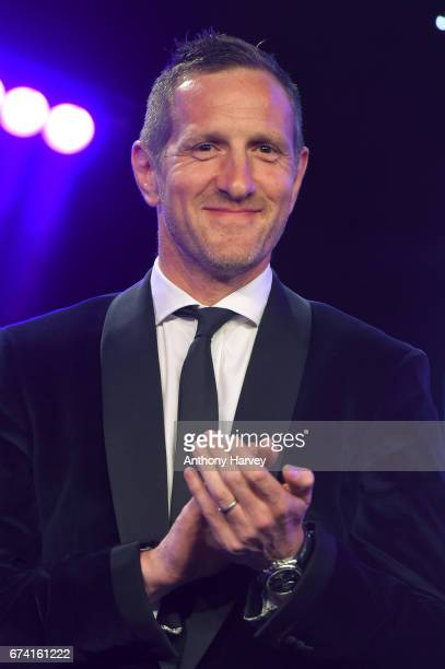Will Greenwood presents the Entertainment Experience of the Year award in association with Active during the BT Sport Industry Awards 2017 at...