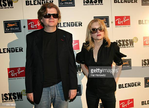 Will Gregory and Alison Goldfrapp of Goldfrapp during 20th Annual SXSW Music and Film Festival Blender 20th Anniversary Party at Guerrero Produce...