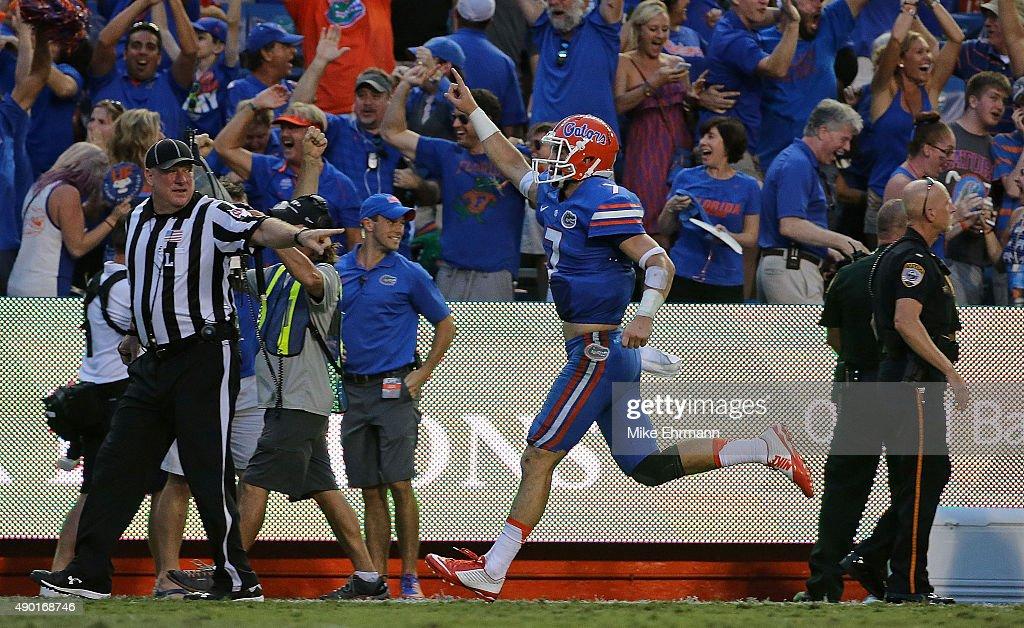 Tennessee v Florida : News Photo
