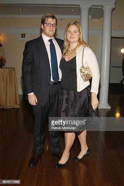 Will Grose and Sarah Horne attend AUDUBON CONNECTICUT Fall Dinner Dance Honoring Dan W Lufkin at The Belle Haven Club on November 11 2006 in...