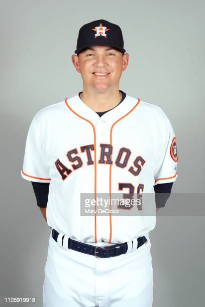 Will Harris of the Houston Astros poses during Photo Day on Tuesday February 19 2019 at the FITTEAM Ballpark of the Palm Beaches in West Palm Beach...