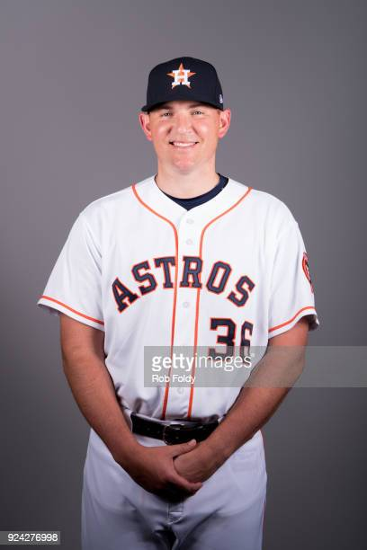Will Harris of the Houston Astros poses during Photo Day on Wednesday February 21 2018 at the Ballpark of the Palm Beaches in West Palm Beach Florida