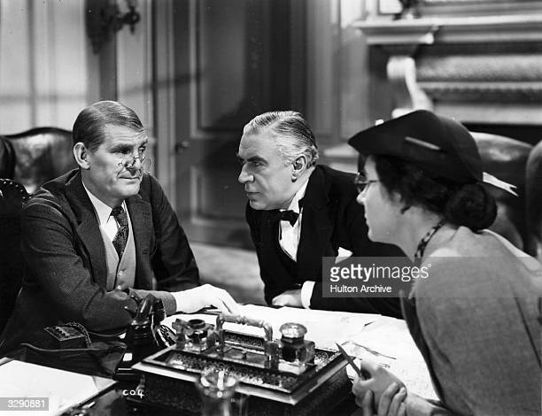 Will Hay and Peter Gawthorne star in the Gainsborough comedy 'Convict 99' directed by Marcel Varnel