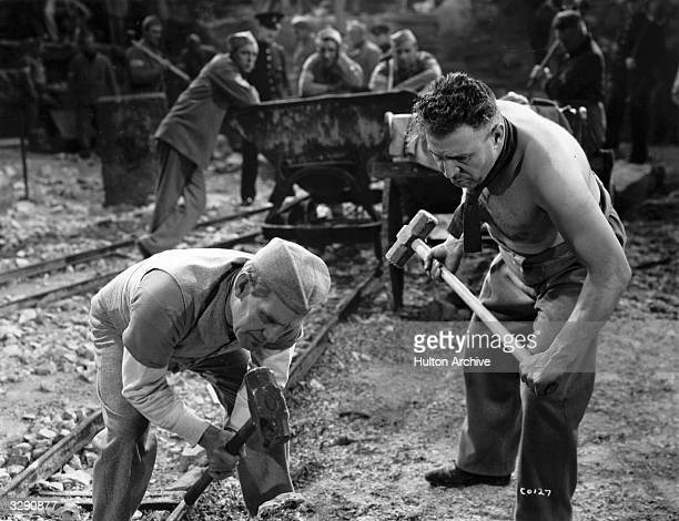 Will Hay stars in the Gainsborough Picture 'Convict 99' directed by Marcel Varnel