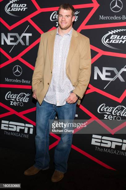 Will Herring attends ESPN The Magazine's Next Event at Tad Gormley Stadium on February 1 2013 in New Orleans Louisiana