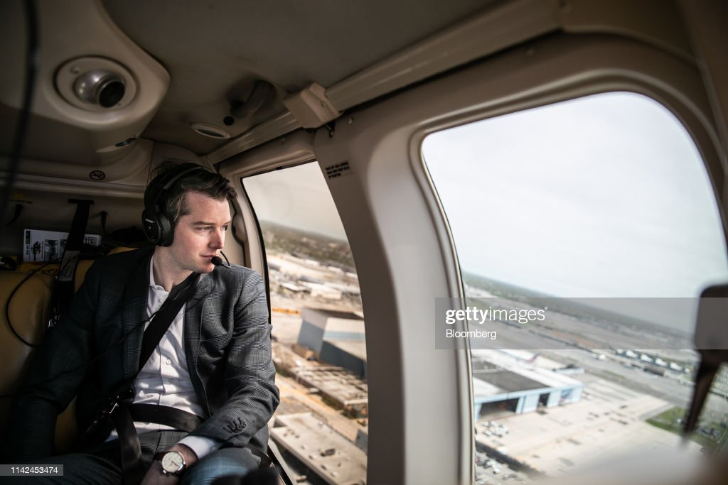 NYC Copter Startup Blade Aims At Uber Black With $195 Airport Trips : News Photo