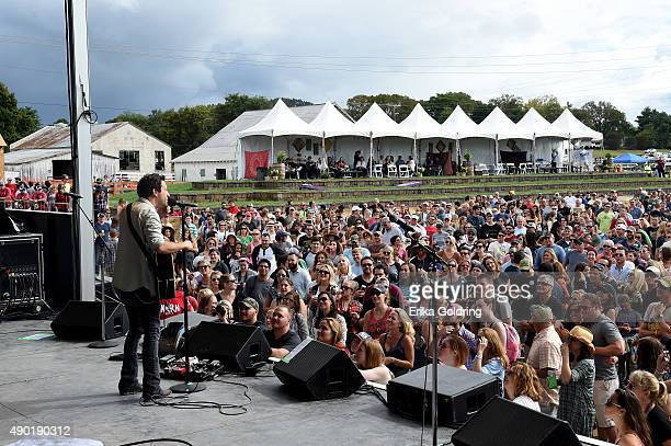 Will Hoge performs onstage during Pilgrimage Music Cultural Festival on September 26 2015 in Franklin Tennessee