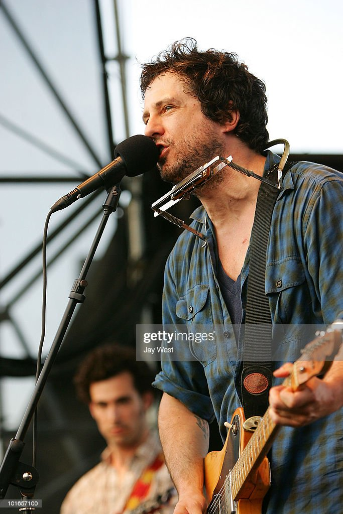 Will Hoge performs opening for Dwight Yoakam at Nutty Brown Cafe on June 5, 2010 in Austin, Texas.