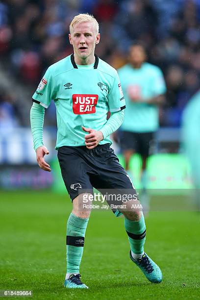 Will Hughes of Derby County during the Sky Bet Championship match between Huddersfield Town and Derby County at John Smith's Stadium on October 22...